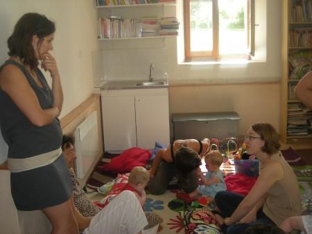 LRF C'est aussi des discussions avec la médiatrice familiale