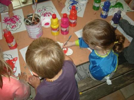 LRF atelier peinture sur soie